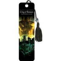 (2x6) The Mortal Instruments - City of Bones Book Cover Beaded Bookmark