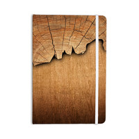 "Susan Sanders ""Natural Wood"" Rustic Nature Everything Notebook"