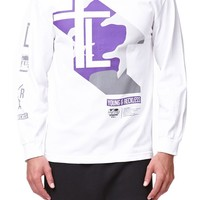 Young & Reckless Lord Of The Trap Long Sleeve T-Shirt - Mens Tee - White