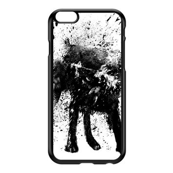 Wetdog Black Hard Plastic Case for iPhone 6 Plus by Balazs Solti