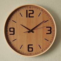 Wood Wall Clock | west elm