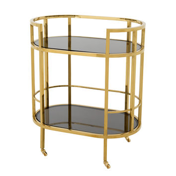 Gold Bar Cart | Eichholtz Townhouse