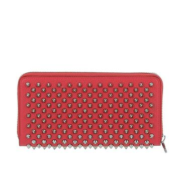 Christian Louboutin Women's 1185059H032 Red Leather Wallet