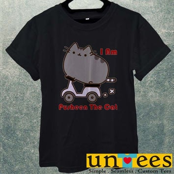 Parody Pusheen The Cat Funny Men T Shirt