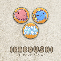 Ikaboushi イカボウシ Pinback Buttons (Set of 3)