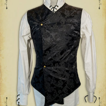 Medieval clothing Gentilhomme Shirt steam punk clothing medieval Victorian costume