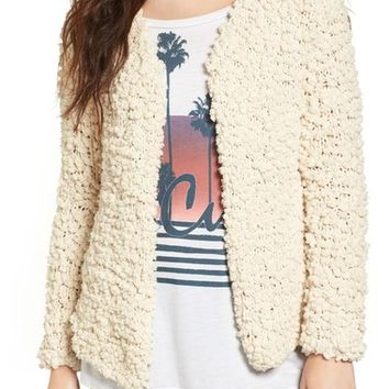 Rip Curl Cozy Up Plush Sweater Jacket | Nordstrom