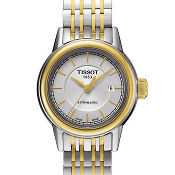 Tissot Mens Carson Automatic Two-Tone Stainless Steel Watch