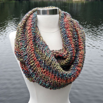 New!! Quick, Easy and Luxurious Cowl Knitting Pattern Size 15 or 17 Circular Needles