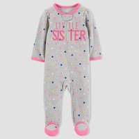 Baby Girls' Little Sister Sleep N' Play - Just One You™ Made by Carter's® Gray