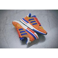 Dragon Ball Z x Adidas ZX500 RM Boost ¡°SON GOKU¡±ZX500 Running Shoes D97046