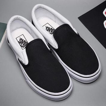 Vans Classics Old Skool Canvas Flat Sneakers Sport Shoes