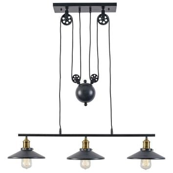 Rawley 3-Light Pulley Pendant