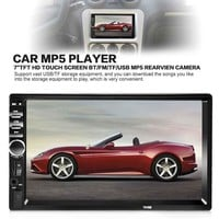 Universal 7 Inch 2 DIN Car Audio Stereo Player Bluetooth V2.0 Car Radio Touch Screen hands-free call MP5 Player MMC USB FM Radio
