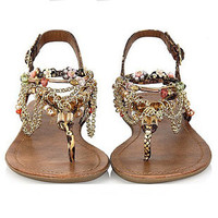 Fashion Diamond bohemian Sandals Shoes