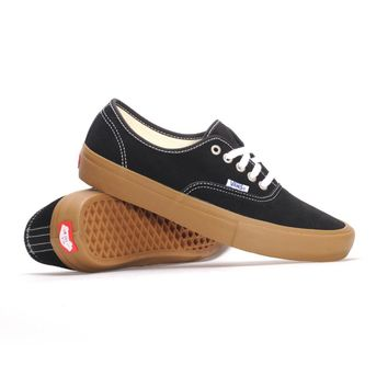 Vans Authentic Pro-Black/Gum