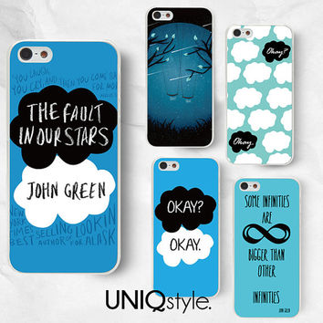 The Fault in Our Stars phone case - John Green phone case for LG G2 Nexus 4 Nexus 5 L9, Motorola Moto G Moto X - L74