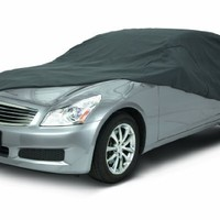 Classic Accessories 10-013-251001-00 OverDrive PolyPro III Heavy Duty Mid Size Sedan Car Cover
