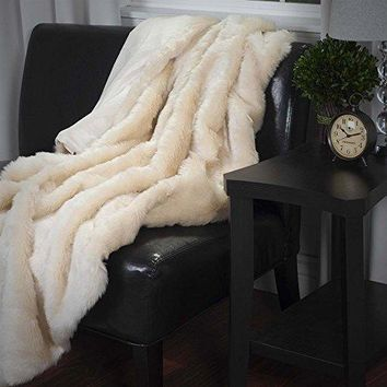 Ben and Jonah Luxury Long Haired Faux Fur Throw Blanket