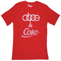 Dope & Coke Drugs T-shirt Unisex by American Anarchy Brand