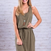 Chill Out Dress, Olive