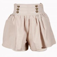 Toulouse Chivalry Beige Culottes  | Sincerely Sweet Boutique