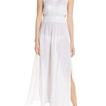 Wish You Well Low Back Maxi Dress