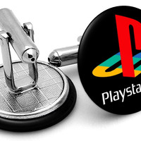Playstation Original Logo Cufflinks