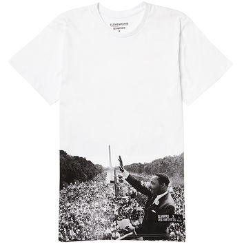 Eleven Paris T Shirt with M. L. King JR Back Print