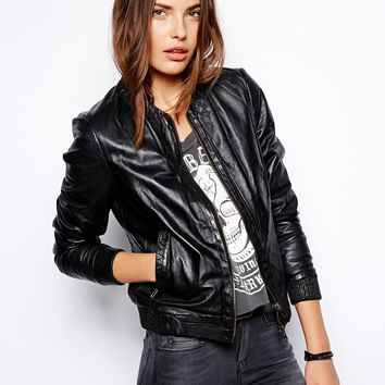 Muubaa Naniwa Blouson Leather Jacket