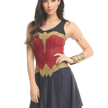 Her Universe DC Comics Wonder Woman Reversible Dress