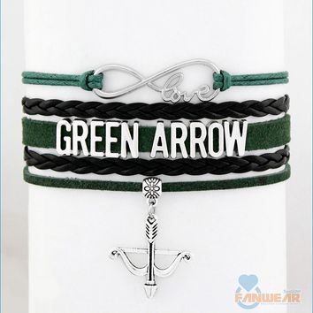 GREEN ARROW Infinity Love Bracelet