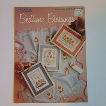 Bedtime Blessings Counted Cross Stitch Leisure Arts 899
