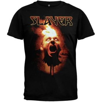 PEAPGQ9 Slayer - Torch Head T-Shirt - Medium