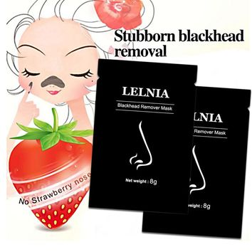 Black mask blackhead remover Deep Cleansing purifying peel off Black head pores face mask Remove blackhead facial mask