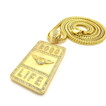 BOSS LIFE CHAIN NECKLACE