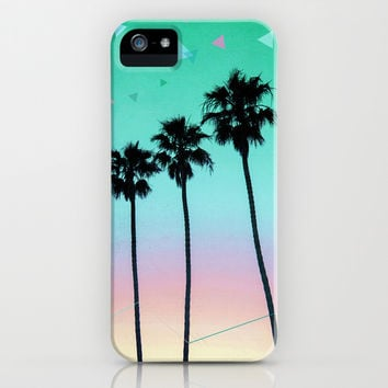 Palm Trees 4 iPhone & iPod Case by Mareike Böhmer Graphics | Society6