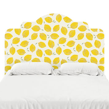 Lemon Headboard Decal