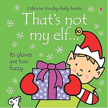 That's Not My Elf Board Book