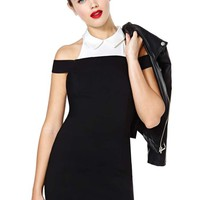 Nasty Gal Look Sharp Dress