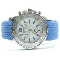Textured Oversized Silicone Watch BlueItem: 33755-Blue