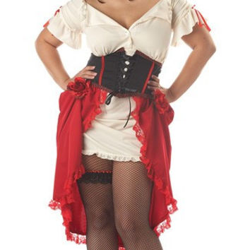 Plus Size Cantina Girl Costume