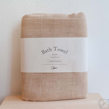 Natural Anti-Bacterial Persimmon Bath Towel