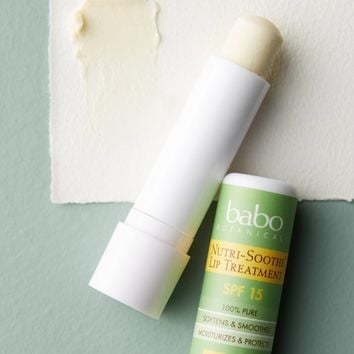Babo Botanicals Nutri-Soothe Lip Treatment SPF 15