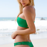 San Lorenzo - Lima Reversible Bottom | Spring Green