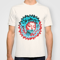 Blue pill, red pill? T-shirt by Valentina Brostean