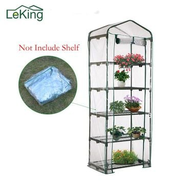 Hot Sale Plastic Plant Greenhouse Cover 3 4 5 Tier Not Include Shelf Growbag Household Garden  Mosquito Bird Repeller Orchard