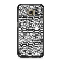Geometric Aztec Eye Tribal Pattern Samsung Galaxy S6 case