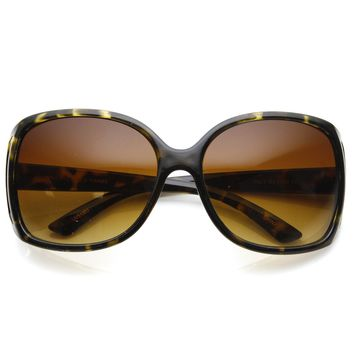 Large Square Womens Fashion Eyewear Sunglasses 8753