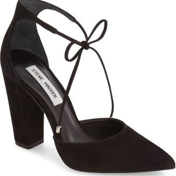 Steve Madden Pamperd Lace-Up Pump (Women) | Nordstrom